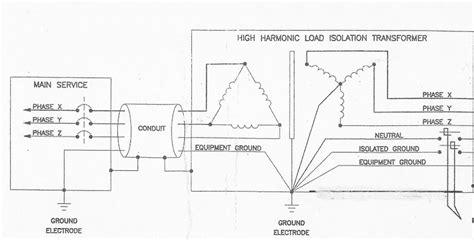 transformer grounding diagram isolation transformer wiring diagram get free image