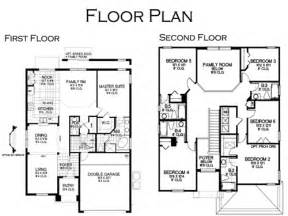 6 bedroom house floor plans floor plan the ideal villa at solana resort