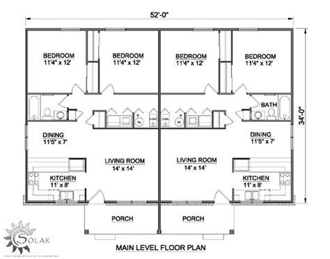 income property floor plans the 25 best duplex floor plans ideas on pinterest