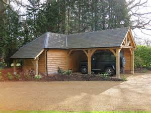 L Shaped Garage Plans L Shaped Garage Blackdown Shires Oak Buildings