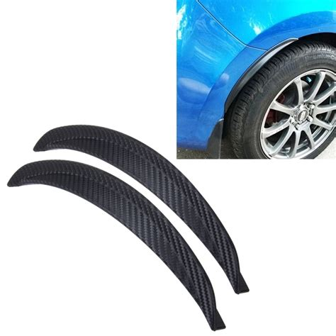 Car Sticker 24 by 2 Pcs Car Auto Rubber Fender Guard Protection