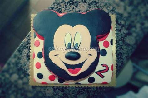 Yzan Mickey mert in mickey mouse pastası 214 zlem pehlivan yemek
