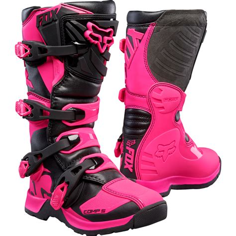 pink motocross boots youth comp 5 boots pink size 7 rockys great outdoors