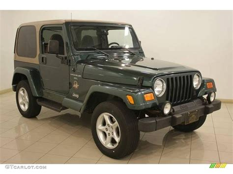 2000 forest green pearl jeep wrangler 4x4 17704243 gtcarlot car color galleries