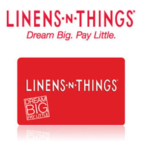 Linens N Things Gift Card - buy linens n things gift cards at giftcertificates com