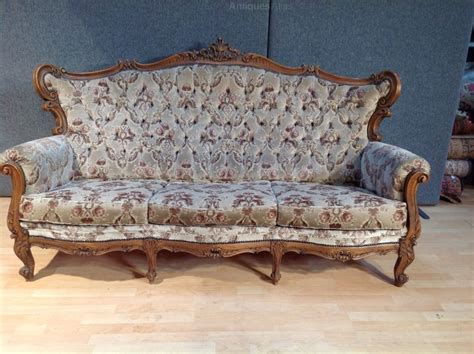 vintage french sofa antiques atlas antique french upholster louis style sofa