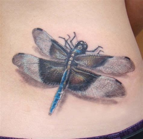 dragonfly tattoo on ribs great realistic dragonfly tattoo on ribs tattooimages biz