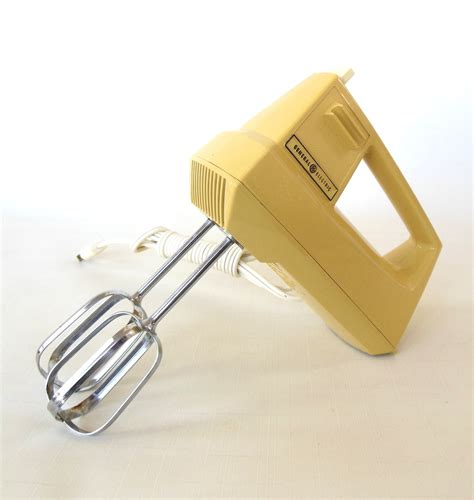 general electric kitchen appliances general electric hand mixer vintage 1970s kitchen