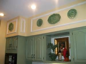 Decorating Ideas For A Kitchen Soffit Five Interesting Kitchen Soffit Makeovers 187 Curbly Diy