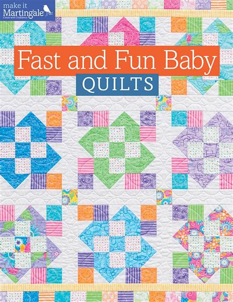 repository pattern c mvc sle fast and fun baby quilts softcover b1229t martingale
