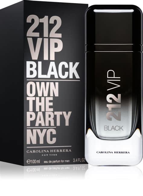 Parfum 212 Homme by Carolina Herrera 212 Vip Black Eau De Parfum Pour Homme 100 Ml Notino Fr