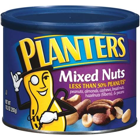 Planters Nut by Planters Mixed Nuts 10 3 Oz Walmart