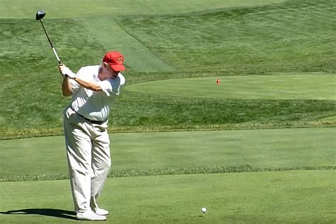 donald trump golf swing donnie s golf game is donald trump really a 2 8 handicap