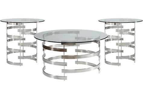baylor metal 3 pc table set table sets metal