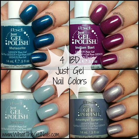 Ibd Gel by Ibd Just Gel Nail Colors For Winter