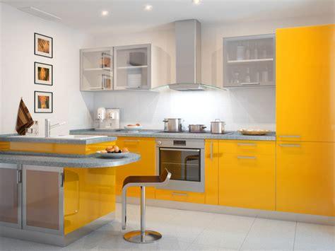 Farbe In Der Küche by K 252 Chen In Orange Gelb Gr 252 N Streichen