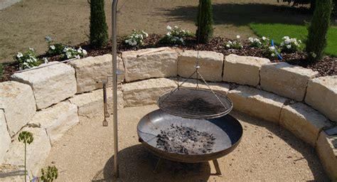 steine für feuerschale feuerstelle garten naturstein m 246 belideen