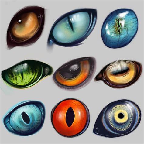 printable dragon eyes ojos animales pinteres