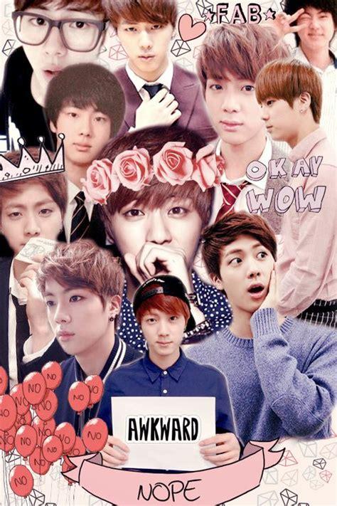 wallpaper google kpop jin collage buscar con google bts bangtan boys