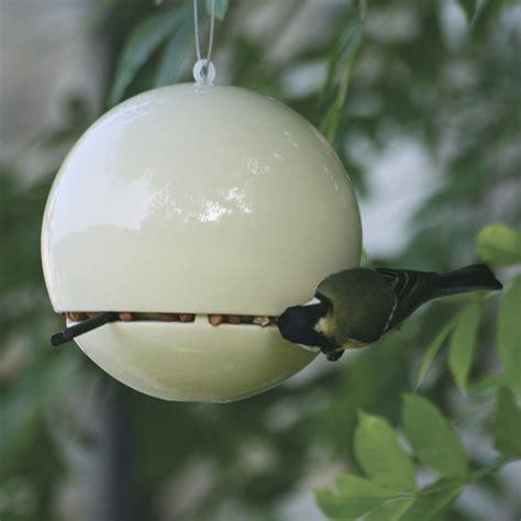birdball peanut feeder contemporary bird feeders by haus