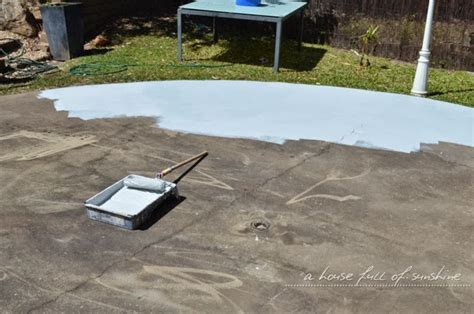 can you paint patio pavers backyard makeover how to paint concrete to look like