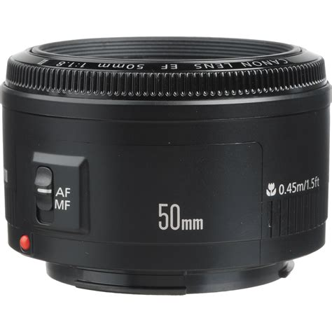50mm lens canon ef 50mm f 1 8 ii lens 2514a002 b h photo