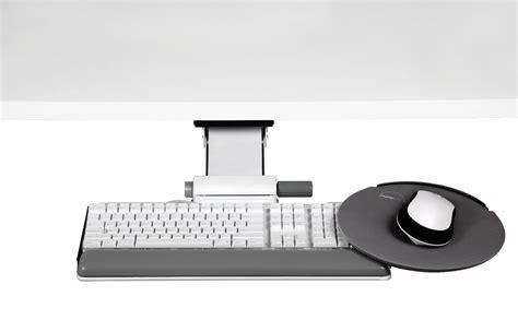 Desk Computer Stand Keyboard Tray And Mouse Platform Ergonomic Keyboard