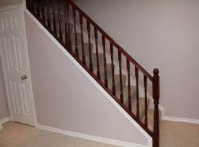 Stair Wood Railing by Turtles And Tails Under Stair Storage