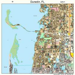 map of ta florida pin dunedin florida area map on