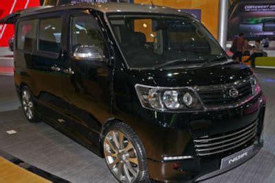 Lu Mobil Luxio harga dan spesifikasi daihatsu luxio terbaru autogaya