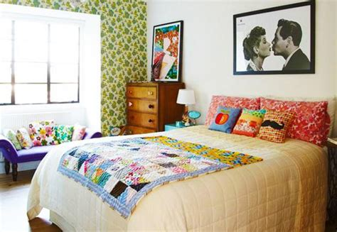 1950s style bedroom retro modern furniture giving retrospect look at