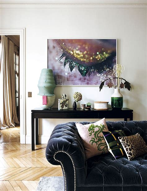 decorating parisian style chic modern apartment by
