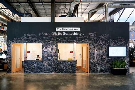 facebook office interior facebook headquarters interior the facebook wall modlar com