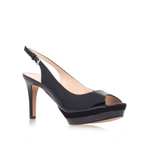 high heels nine west nine west able23 high heel court shoes in black lyst