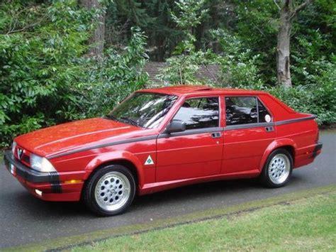 Alfa Romeo Verde For Sale by 1989 Alfa Romeo Verde 3 0 Bring A Trailer