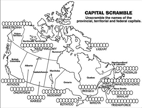 canadian map quiz printable canadian geography 1202