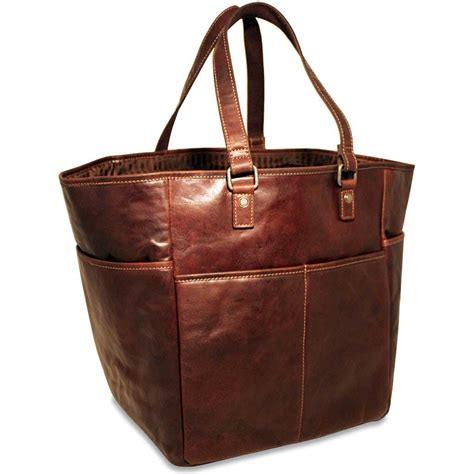 Picnic Bag georges voyager leather picnic bag shopping tote 7514