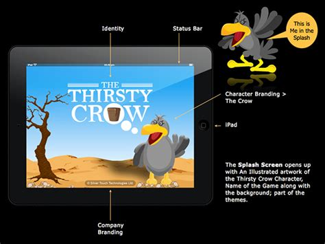 design game for ios game design the thirsty crow for ios on pantone canvas