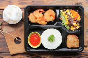 paket deluxe lunch abrorfood