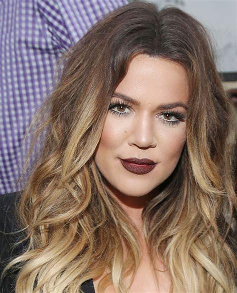 khloe kardashians ombre hair expert tips to get the look perfect sleek khloe kardashian odom ombre my next hair