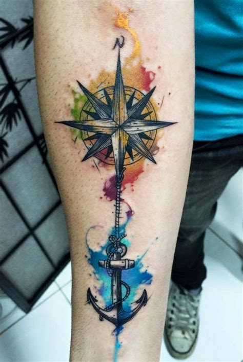watercolor tattoo df 1000 ideas about watercolor compass on