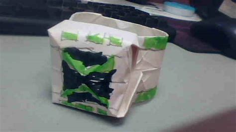 How To Make A Paper Ben 10 Omniverse Omnitrix - origami omnitrix omniverse style by dalekofborg on deviantart