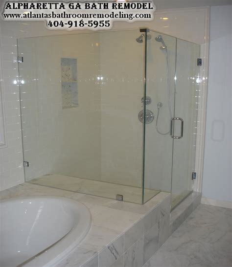 Frameless Shower Doors Leak Alpharetta Ga Bathroom Remodeling Company Bath Remodeling Contractor