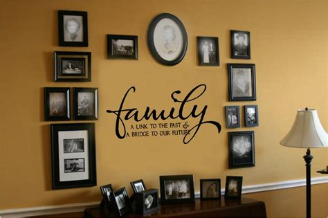 decor links family link to past bridge to future vinyl wall decal