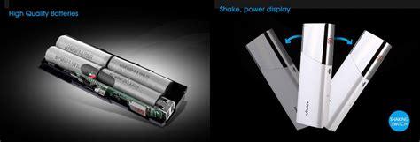 Powerbank Vivan L10 jual vivan l10 hi lite led power bank putih 10000 mah harga kualitas terjamin