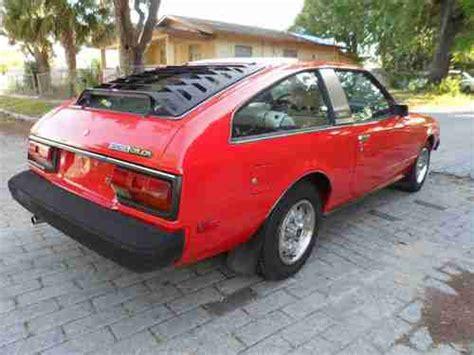 1981 Toyota Celica Hatchback Purchase Used 1981 Toyota Celica Gt Hatchback 2 Door 2 4l