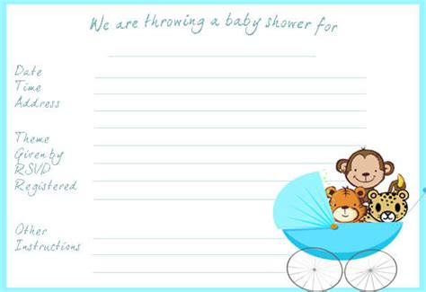 baby shower card template microsoft word baby shower invitation templates word baby shower ideas