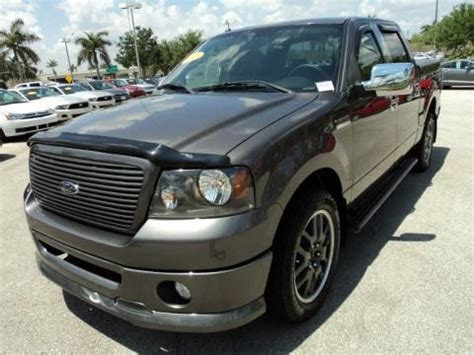 2008 Ford F150 Specs by 2008 Ford F150 Fx2 Sport Supercrew Data Info And Specs