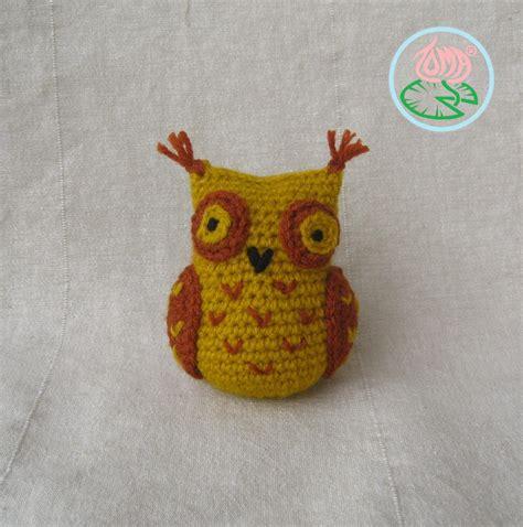 free crochet pattern owl motif free pattern amigurumi sophisticated owl toma creations