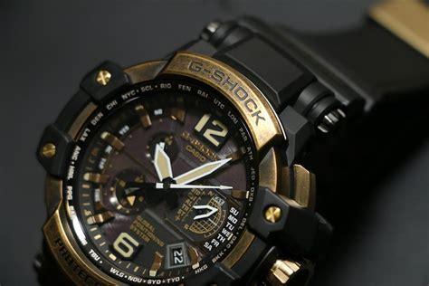 Jam Tangan Gshock Gpw 1000 Hitam casio jam tangan pria g shock gpw 1000tbs 1adr hitam